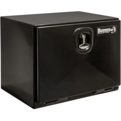 Buyers Products 18 in. x 18 in. x 30 in. XD Black Steel Underbody Truck Box