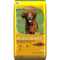 Retriever Bites & Bones Dog Food; 20 lb. Bag