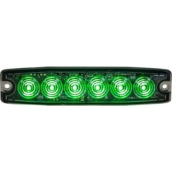 Buyers Products 5.14 in. Green Surface Mount Ultra-Thin LED Strobe Light