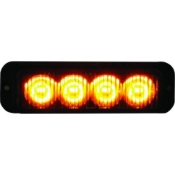 Buyers Products 4.875 in. Amber LED Mini Strobe Light