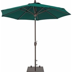 TrueShade Plus 9 ft. Market Umbrella with Sunbrella Fabric; Auto tilt-and-crank; Forest Green found on Bargain Bro India from Tractor Supply for $429.99