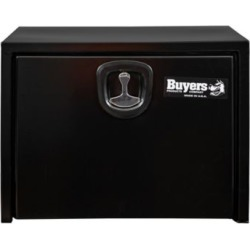 Buyers Products 18 in. x 18 in. x 30 in. Black Steel Underbody Truck Box with 3-Point Latch