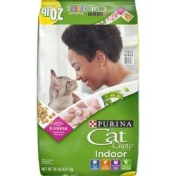 Purina Cat Chow Indoor Cat Food; 22 lb. Bag