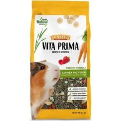 Sunseed Vita Prima Guinea Pig Food 8 lb. 59769 found on Bargain Bro India from Tractor Supply for $16.99