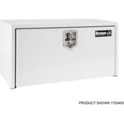 Buyers Products 18 in. x 18 in. x 24 in. White Steel Underbody Truck Box