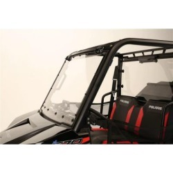 Extreme Metal Products Mid-Size/2-Seat Polaris Ranger Flip-Up Windshield
