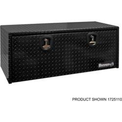 Buyers Products 24 in. x 24 in. x 60 in. Black Diamond Tread Aluminum Underbody Truck Box