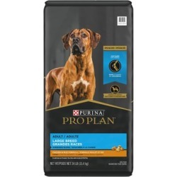 Purina Pro Plan Joint Health Large Breed Dog Food, Shredded Blend Chicken & Rice Formula - 34 lb. Bag