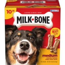 Milk-Bone Original Dog Biscuits Medium Dogs; 10 lb. Bag