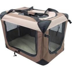Iconic Pet Multipurpose Pet Soft Crate with Fleece Mat