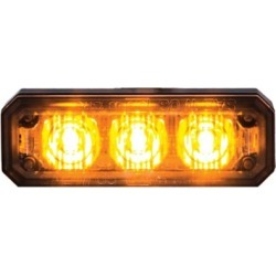 Buyers Products 2.5 in. LED Amber Multi Mount Mini Strobe Light