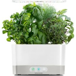 AeroGarden Harvest White In-Home Garden System, 12 in. Maximum Growth Height. 6 Plants, 901101-1200