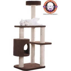 Armarkat Carpeted Cat Tree/Gym Scratching Post; F5502