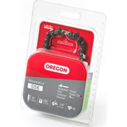 Oregon 16 in. Bar Saw Chain; 0.375 Pitch; 0.050 Gauge; Use 5/32 in. File; 56 Drive Links
