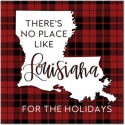Farmstead Fields Louisiana Holidays 16 in. x 16 in. Canvas, 5896-L found on Bargain Bro Philippines from Tractor Supply for $35.99
