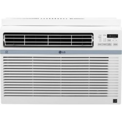LG Energy Star 12;000 BTU 115V Window-Mounted Air Conditioner with Wi-Fi Control