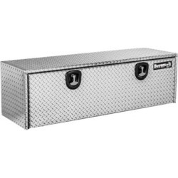 Buyers Products 18 in. x 18 in. x 60 in. Diamond Tread Aluminum Underbody Truck Box