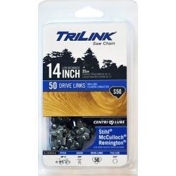 TriLink Saw Chain 14 in. Semi Chisel Saw Chain; 3/8 in. LP Pitch; .050 in. Gauge; 50 DL
