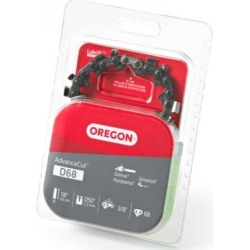 Oregon 18 in. Bar Saw Chain; 0.375 Pitch; 0.050 Gauge; Use 7/32 in. File; 68 Drive Links