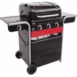 Char-Broil Gas2Coal Charcoal and 3-Burner 40;000 BTU Gas Grill