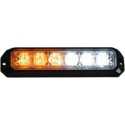 Buyers Products 5 in. Amber/Clear LED Strobe Light