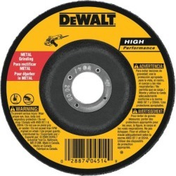 DeWALT 4-1/2 x 1/4 x 7/8 Metal Grinding 6 pk., DW4514P6 found on Bargain Bro Philippines from Tractor Supply for $14.99