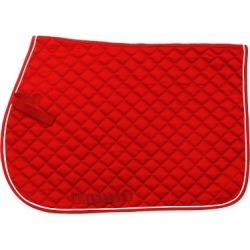 Tough-1 Square Quilted Cotton Comfort English Saddle Pad found on Bargain Bro Philippines from Tractor Supply for $24.99