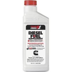 Power Service Diesel Fuel Supplement Antigel + Cetane Boost; 32 oz.