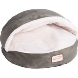 Armarkat Cat Bed; Laurel Green and Ivory