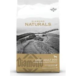 Diamond Naturals Light Adult Dog Lamb Meal and Rice Formula Dry Dog Food, 30 lb. Bag
