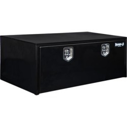 Buyers Products 18 in. x 24 in. x 48 in. Black Steel Underbody Truck Box