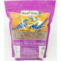 Royal Wing Berry-Flavored Mealworm Bird Treats