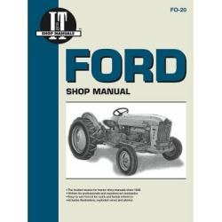 I&T Shop Manuals Ford Shop Manual, FO20, 144 Pages