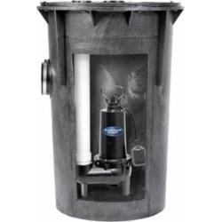 Superior Pump 93015 Pre-Assembled Simplex Sewage Pump Kit