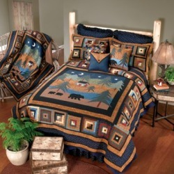 Donna Sharp Midnight Bear King Quilt. 90907 found on Bargain Bro from Tractor Supply for USD $303.99
