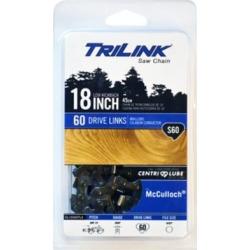 TriLink Saw Chain 18 in. Semi Chisel Saw Chain; 3/8 in. LP Pitch; .050 in. Gauge; 60 DL