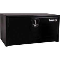 Buyers Products 18 in. x 18 in. x 36 in. Black Steel Underbody Truck Box with 3-Point Latch