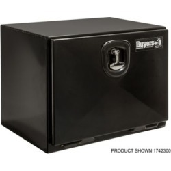 Buyers Products 18 in. x 18 in. x 48 in. XD Black Steel Underbody Truck Box