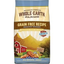 Merrick Whole Earth Farms Healthy Weight Dry Dog Food, 4 lb. Bag
