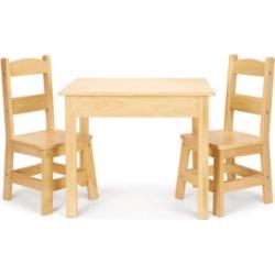 Melissa & Doug Wooden Table & Chairs Set
