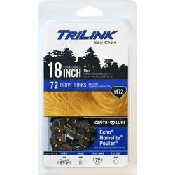 TriLink Saw Chain 18 in. Semi Chisel Saw Chain; .325 in. Pitch; .050 in. Gauge; 72 DL