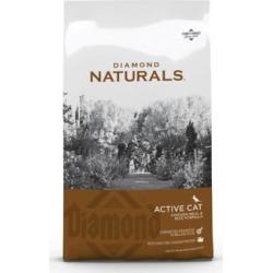 Diamond Naturals Active Cat Chicken Meal & Rice Formula, 18 lb. Bag