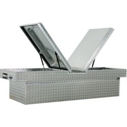 Buyers Products 18 in. x 27 in. x 71 in. Diamond Tread Aluminum Gull Wing Truck Box, Lower Half 11 in. x 27 in. x 60 in. found on Bargain Bro Philippines from Tractor Supply for $1012.99