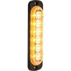 Buyers Products 4.375 in. Amber Thin Mount Vertical Strobe Light