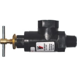 Hamilton Pressure Regulating Bypass Valve - 3/4 in. MNPT Inlet x 3/4 in. FNPT, Nylon, RV2066-05-58-CSK found on Bargain Bro Philippines from Tractor Supply for $32.99