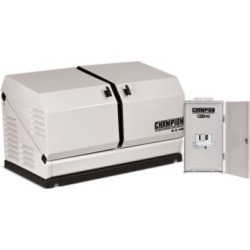 Champion Power Equipment 8.5-kW Home Standby Generator with 50-Amp Outdoor-Rated Automatic Transfer Switch