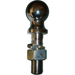 Tractor Supply Hitch Ball, 2 in. x 1 in. x 3-1/4 in., Chrome