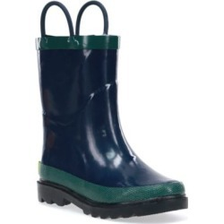 Western Chief Boys' Navy Solid Rain Boots