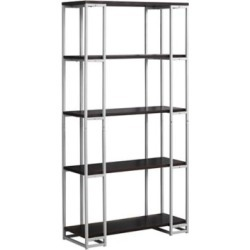 Monarch Specialties 60 in. 4-Shelf Metal Bookcase, I 7242 found on Bargain Bro Philippines from Tractor Supply for $179.99