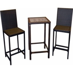 AZ Patio Heaters Bistro Patio Set In Dar, AW-226B